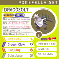 Galar Fossil Pokemon - shiny Dracozolt, Arctozolt, Dracovish, Arctovish • Competitive • 6IVs • Level 100 • Online Battle-ready