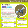 ultra shiny Kyurem • Competitive • 6IVs • Level 100 • Online Battle-ready