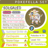 ultra shiny Solgaleo • Competitive • 6IVs • Level 100 • Online Battle-ready