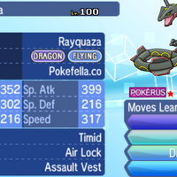 Mega Rayquaza, Dragon Ascent