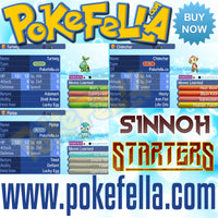 Sinnoh starters turtwig chimchar piplup shiny hidden ability egg moves new nintendo 3ds 2ds XL pokemon ultra sun moon x y alpha sapphire omega ruby