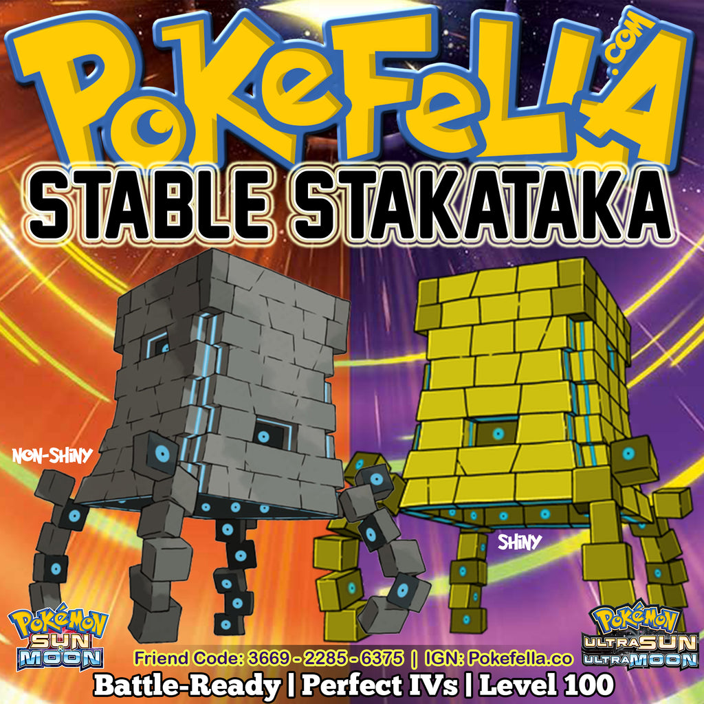 Battle-ready, 6IVs, Level 100