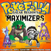 ultra square shiny The Maximizers - Rillaboom, Obstagoon, Toxtricity • Competitive • 6IVs • Level 100 • Online Battle-ready