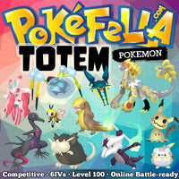 All 11 Totem Pokemon Araquanid Gumshoos Kommo-o Lurantis Marowak Mimikyu Raticate Ribombee Salazzle Togedemaru Vikavolt Battle-ready Competitive Perfect 6IVs Non-shiny buy for sale