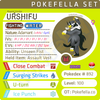 ultra square shiny Urshifu (Rapid Strike) • Competitive • 6IVs • Level 100 • Online Battle-ready