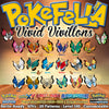 Vivillon all 20 patterns Archipelago, Continental, Elegant, Garden, High Plains, Icy Snow, Jungle, Marine, Meadow, Modern, Monsoon, Ocean, Polar, River, Sandstorm, Savanna, Sun, Tundra, Poké Ball, Fancy Pattern Pokemon Ultra Sun Moon XY Omega Ruby Alpha Sapphire ORAS Nintendo Switch 2DS 3DS XL shiny non-shiny, battle-ready, 6IVs, competitive, Level 100