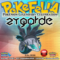 Zygarde • OT: Legenden2018 • ID No. 060118 • Shiny, Level 60 • Pokémon Legendary Celebration