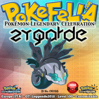 Zygarde • OT: Leggende2018 • ID No. 060118 • Shiny, Level 100 • Pokémon Legendary Celebration