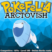 shiny Arctovish • Competitive • 6IVs • Level 100 • Online Battle-ready