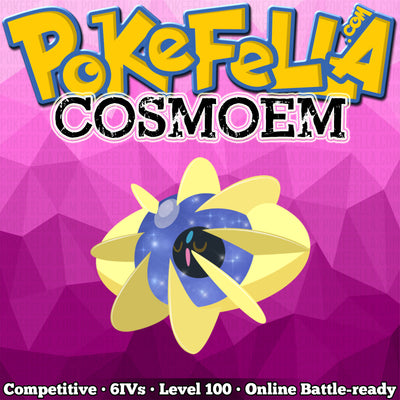 Cosmoem • Competitive • 6IVs • Level 99 • Online Battle-ready