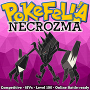 ultra shiny Necrozma • Competitive • 6IVs • Level 100 • Online Battle-ready