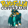 ultra square shiny Gigantamax Copperajah • Competitive • 6IVs • Level 100 • Online Battle-ready