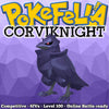 ultra square shiny ultra square shiny Corviknight • Competitive • 6IVs • Level 100 • Online Battle-ready