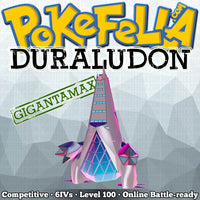 square ultra shiny Gigantamax Duraludon • Competitive • 6IVs • Level 100 • Online Battle-ready