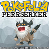 ultra square shiny Perrserker • Competitive • 6IVs • Level 100 • Online Battle-ready