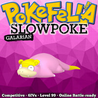 ultra square shiny Galarian Slowpoke • Competitive • 6IVs • Level 99 • Online Battle-ready