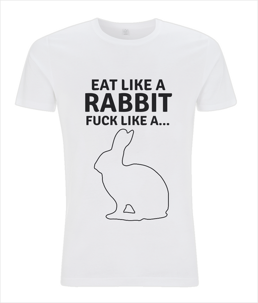 Rabbit, Slim Fit Men's T-shirt