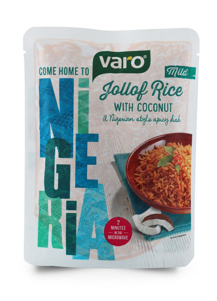 Varo Jollof Rice with Coconut