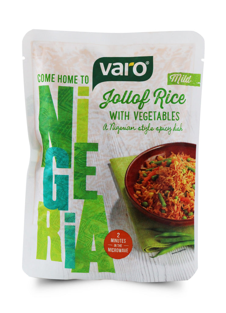 Varo Jollof Rice with Vegetables