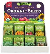 Organic Non-GMO Seeds-Now 15% off!