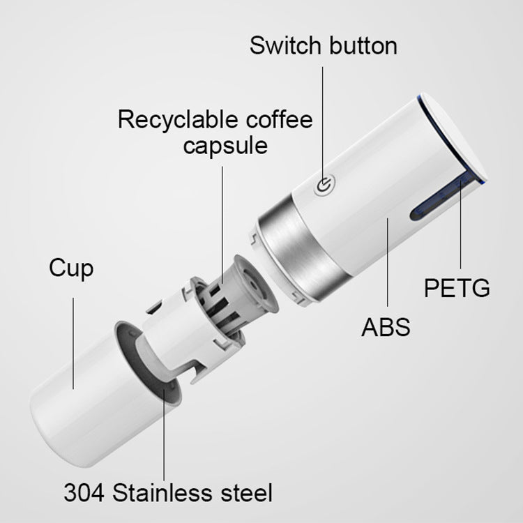 Portable USB Capsule Coffee Machine