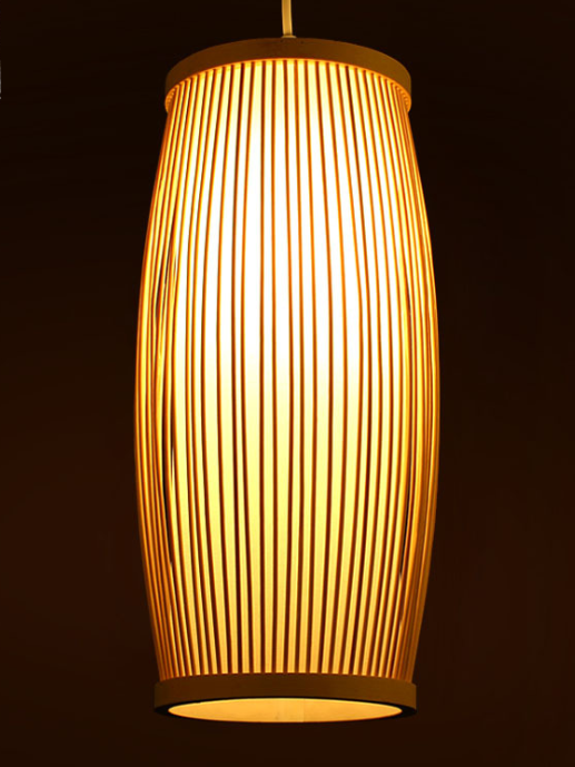 Southeast Asia bamboo plait hall staircase decoration lamp