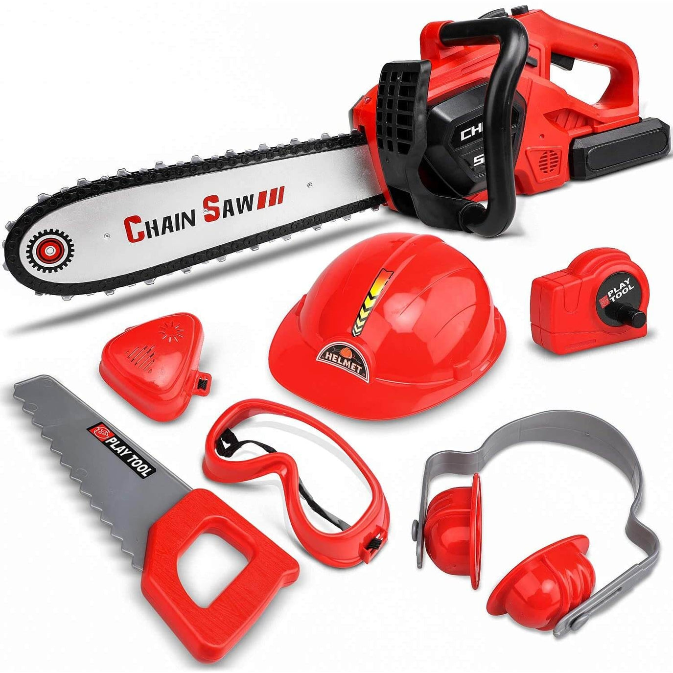 Toy Chainsaw Set