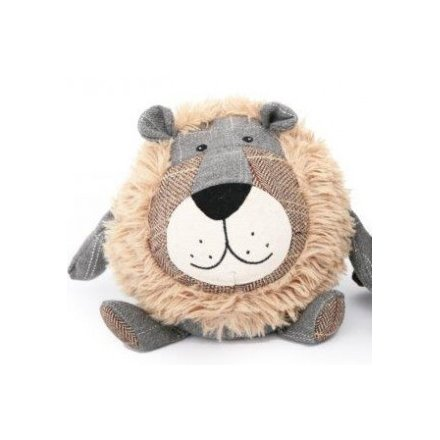 Novelty Tartan Lion Door Stop - ThinkandBuy