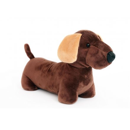 Novelty Sausage Dog Door Stop - ThinkandBuy.co.uk