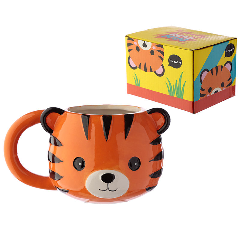 Novelty Tiger Mug:ThinkandBuys