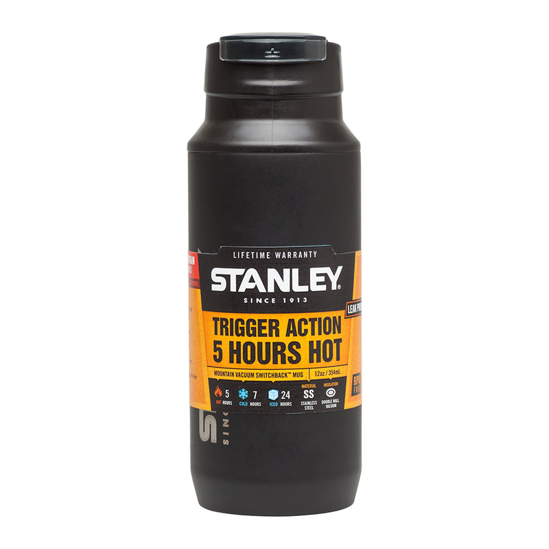 Stanley 0.35L Switchback Mug, Matte Black