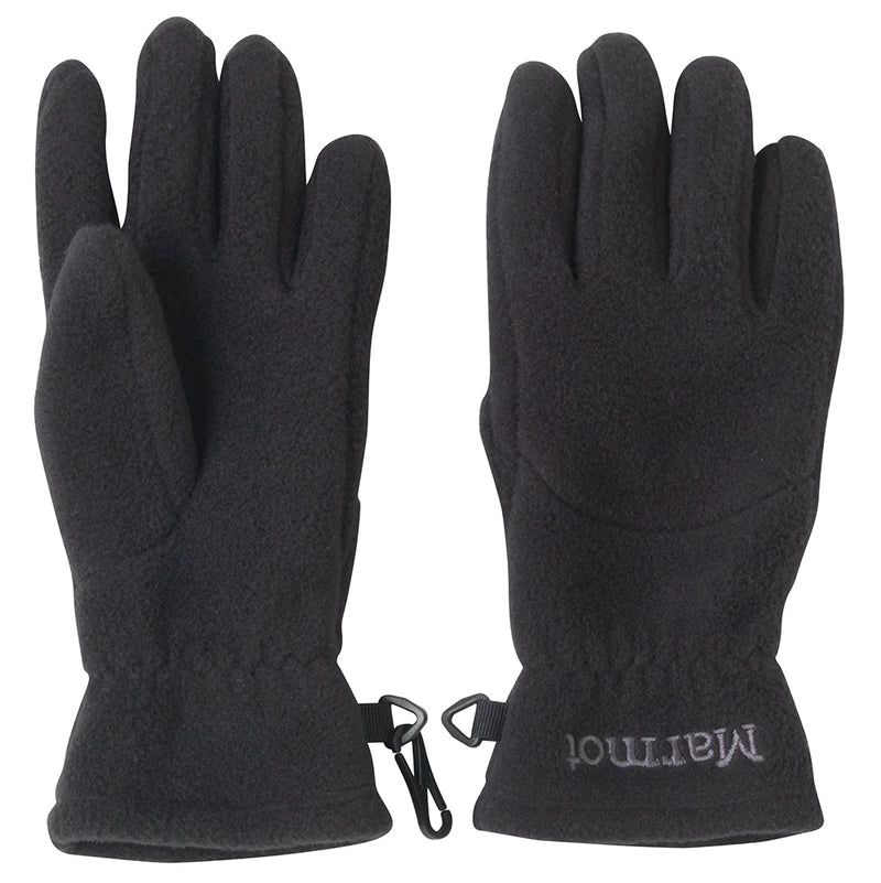 Marmot Kids Fleece Glove Black size M