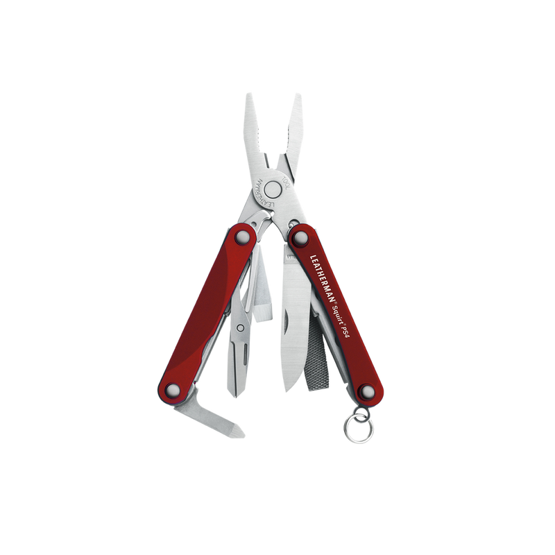 Leatherman SQUIRT® PS4 Multi-tool Red