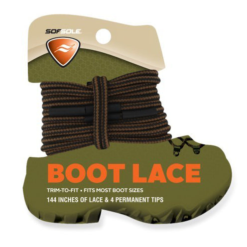 Sof Sole Trim-to-Fit Boot Laces 144""