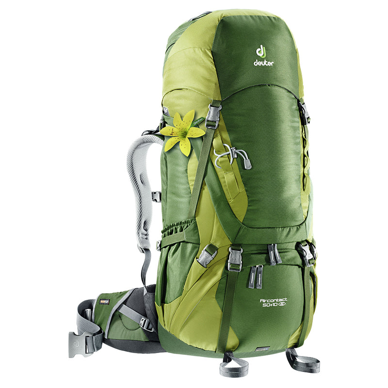 Deuter Aircontact 50+10SL Woman's Backpack Pine-Moss