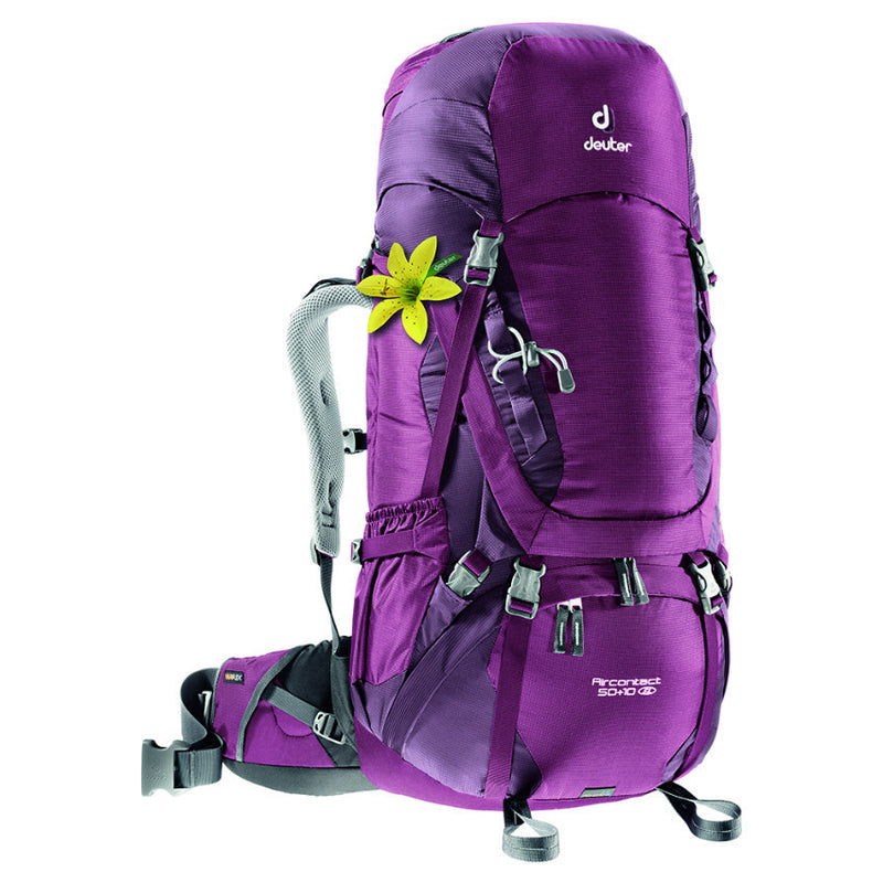Deuter Aircontact 50+10SL Woman's Backpack Blackberry-Aubergine