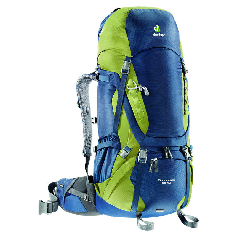 Deuter Aircontact 55+10L Backpack Midnight-Moss