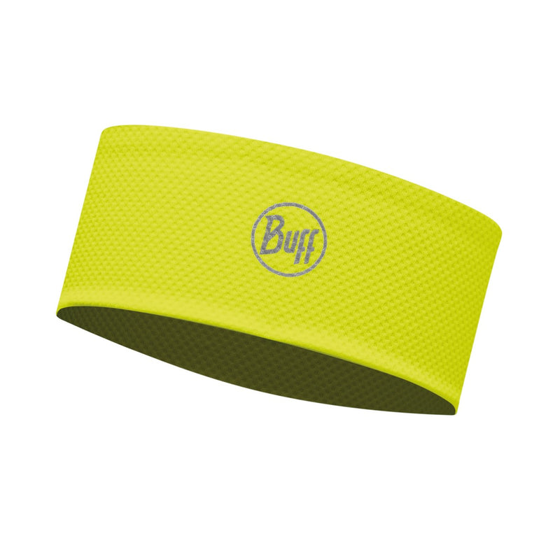 BUFF® Fastwick Headband, R-Solid Yellow Fluor