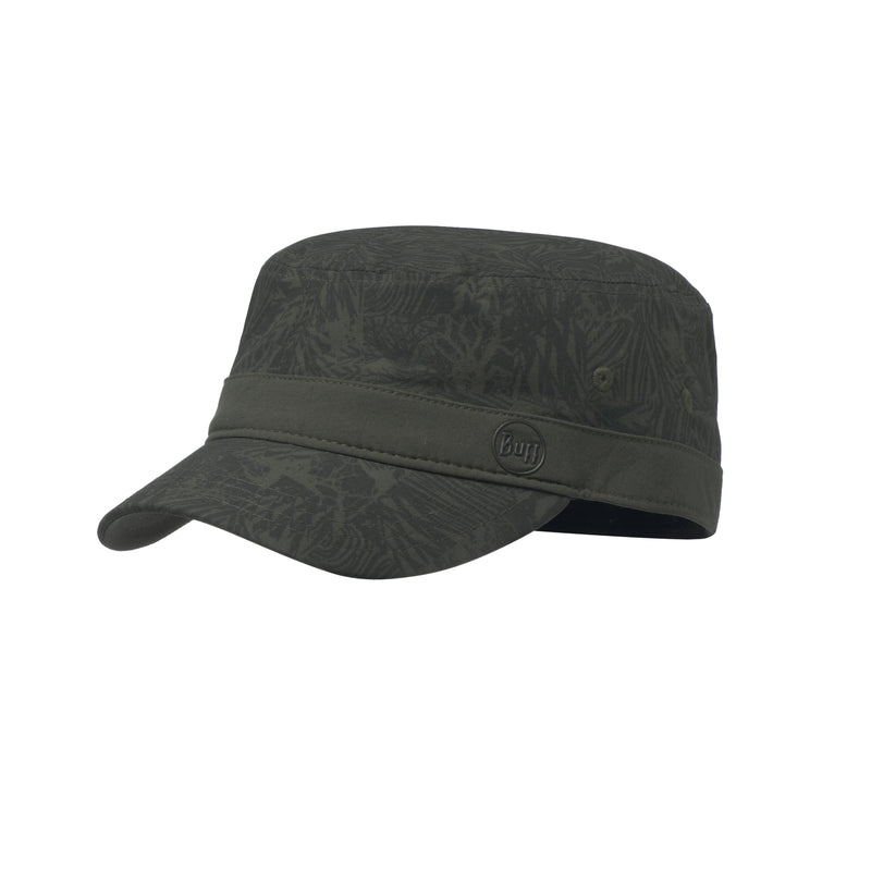 BUFF® Military Cap Checkerboard. Moss Green