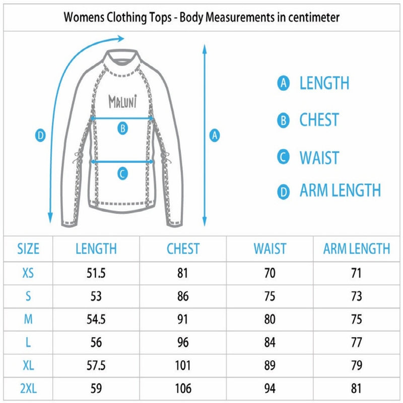 MALUNI Women's Long Sleeve