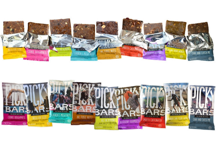 Picky Bars Moroccan Your World, Box of 10