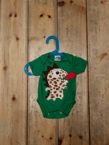 Baby Onesies / Bodysuit  FIRE SPITTING DRAGON