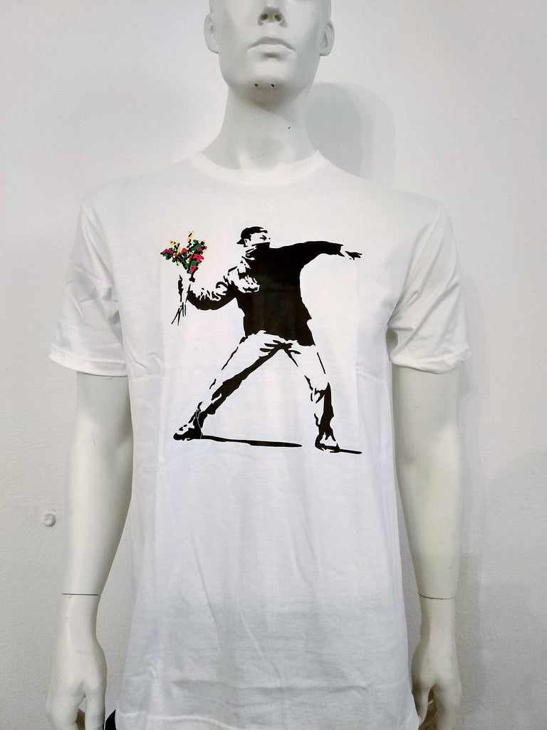 Banksy Flower Thrower - Nili`s
