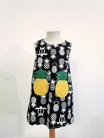 Kids Dress Pineapple