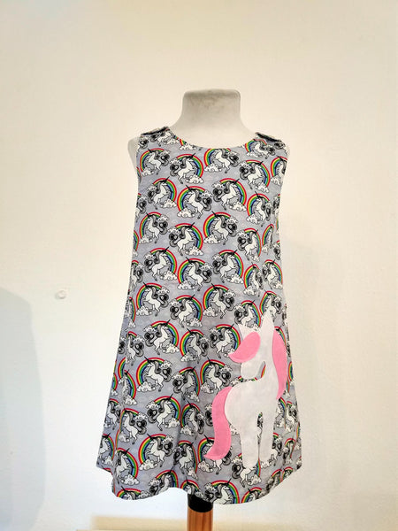 Kids Dress Unicorn - Nili`s