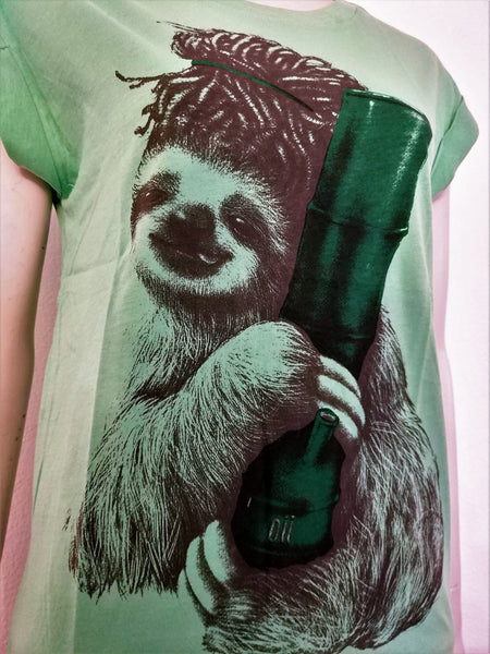 Sloth hugging Bong
