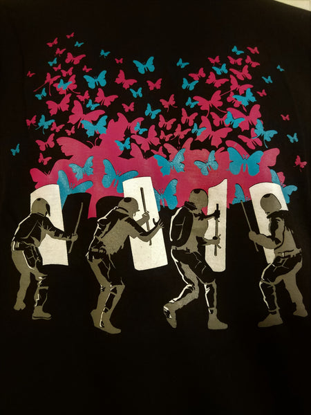 Riot police and Butterfly Attack - Nili`s