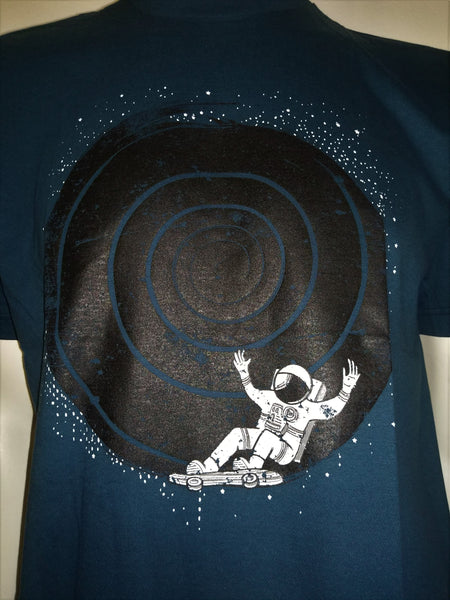 Astronaut skateboarding the black hole - Nili`s
