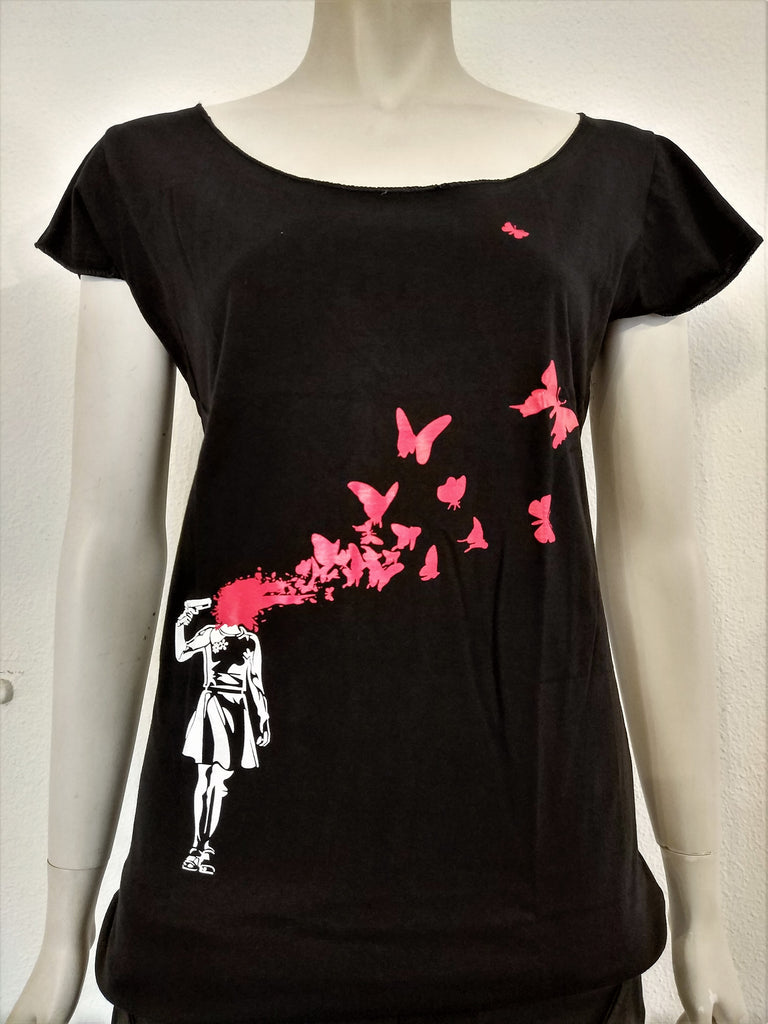Banksy Suicide Butterfly - Nili`s
