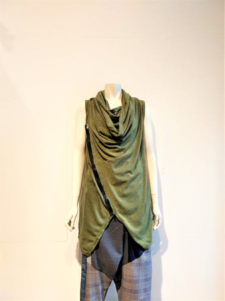 Sleeveless long Top - Nili`s